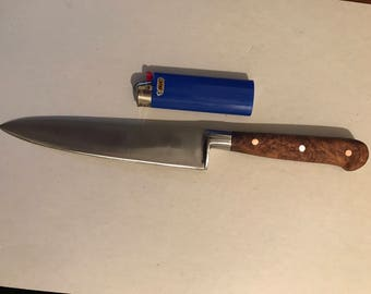 Sabatier 4-star elephant with mesquite burl handle.
