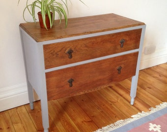 Gorgeous refurbished Oak Chest of Drawers