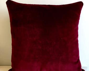 Rad Velvet Pillow Cover Pillow Velvet 18X18 Rad Pillow Designer Pillow Velvet Pillows Velvet Cushion Covers Rad Sofa Pillow Cover