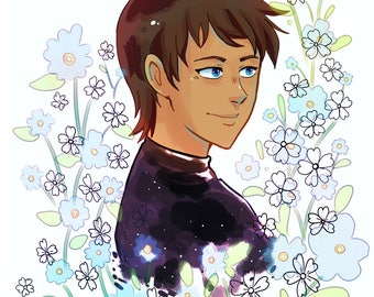Voltron flower series- Lance