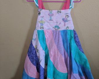 5T Peppermint Swirl Dress