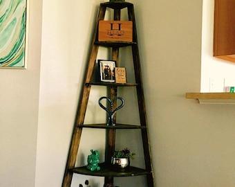 Corner Shelf, Corner Bookcase