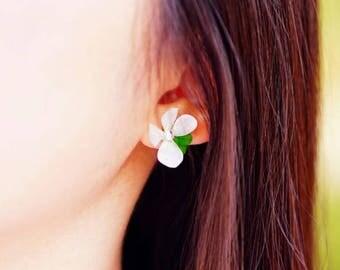 Spring, Real flower earrings, Preserved flower earrings, earrings, Real flower jewelry