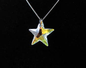 "Oh, Star-16"" Pendant Necklace"