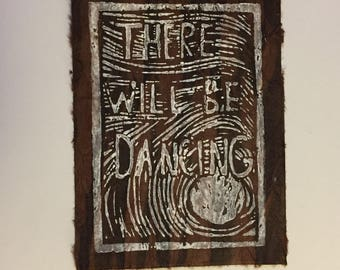 There Will Be Dancing: Brown/White