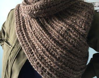 Crocheted Warrior Vest - Barley