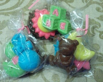 Baby Shower Chocolate Favors