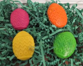 Easte Crayons, easter basket stuffers, Easter eggs,