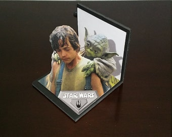 Luke Skywalker & Yoda 3D Photo