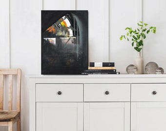 Abstract Painting Nice Acrylic Painting Wunderful Wall Art from Jan Fein Wall Decor For Your Home ''Abstract Painting''