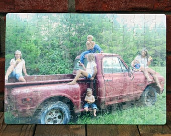 PUZZLES PHOTO / Personalize your own 120 Piece Photo Puzzle