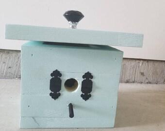 BIRD HOUSE, Functional, turquoise