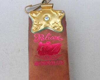Vintage straight razor strop Nichiri .
