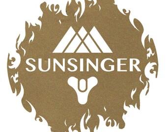 Destiny Sunsinger Decal