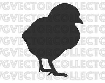 chicken baby chick svg eps png dfx clip art instant digital download