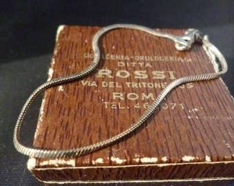 """Vintage shimmery sterling silver bracelet - 925 - 7"""""""