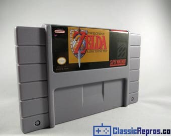 Legend of Zelda a Link to the Past - Super Nintendo Reproduction Game - SNES - USA Version - Fast Shipping