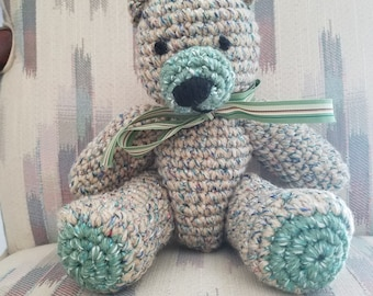 Small Crochet Bear