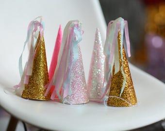Unicorn Party  Hats | Birthday Hats