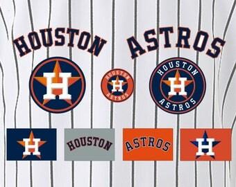 Houston Astros Baseball SVG, Houston Astros, Astros SVG, Baseball Clipart, Houston Astros