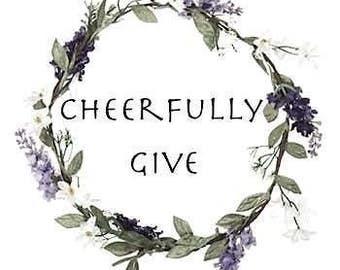 Give Back// Donation // Homeless Gift // Hygiene Kit