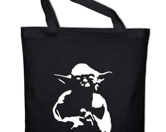 No1 Yoda tote bag, canvas bag