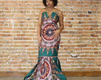 Ankara  Mermaid Dress