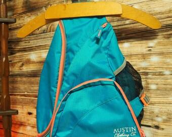 Vintage Austin Company Sling Back Pack Vaporwave