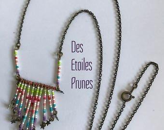 Necklace pendant beads Miyuki