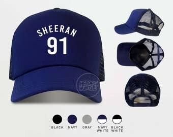 Sheeran 91 Trucker Hats  Ed Sheeran Cap