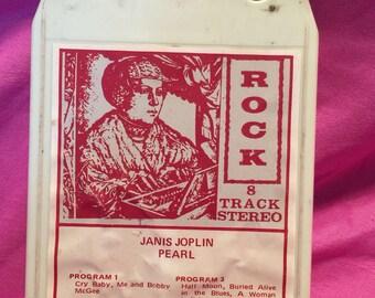 Janis Joplin Pearl 8 track