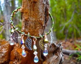 Heartbeat of the forest bracelet