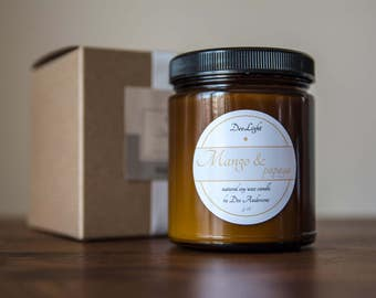 Deelightcandles - natural soy wax scented candles