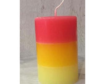 Candle trio - Passion (dia. 6 cm) Fruit perfume