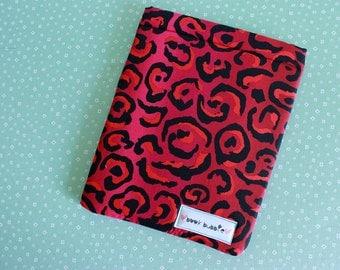Leopard Book Sleeve