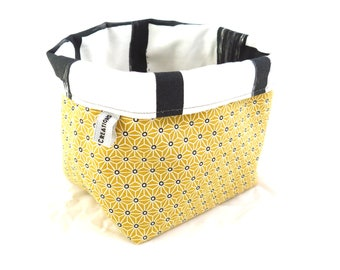 Storage basket, empty Pocket reversible.
