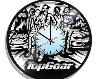 Wall clock with original design Top Gear