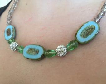 Beautiful Czech Beaded Necklace