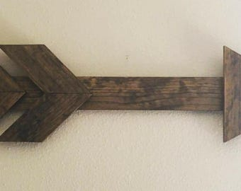 Wooden Arrow Wall Art (Made to Order)