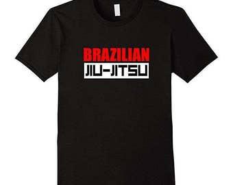 Brazilian Jiu Jitsu Shirt - BJJ T-Shirt - BJJ Gift - Jiu-Jitsu Tee - Mixed Martial Arts Gifts - MMA Gift