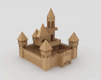 Medieval castle of the feudal lord