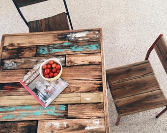 Tobacco Lid Dining Table (4 Seater)