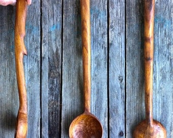Reclaimed Pallet Timber Serving Spoon
