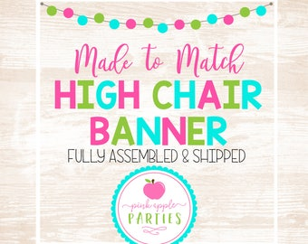 Made to Match - High Chair Banner