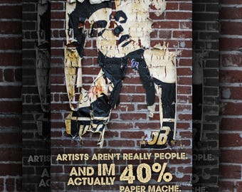 """Morrissey Poster """"Artists aren't really People"""" Poster Download"""
