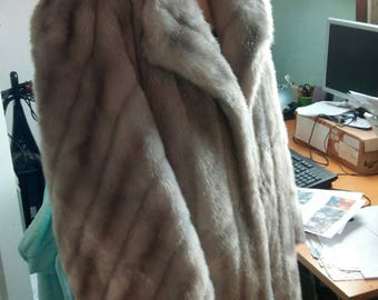 Fir coat faux vintage French - Tissavel