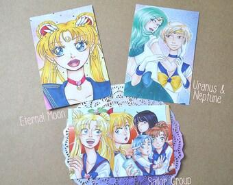 Sailor Moon Postcards