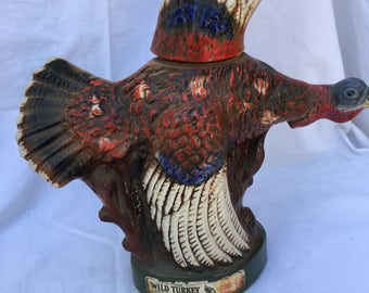 Vintage Wild Turkey Turkey Decanter