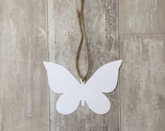 Butterfly Gift Tag