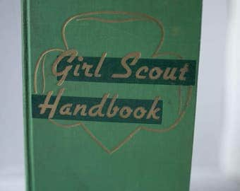 Vintage Girl Scout Handbook